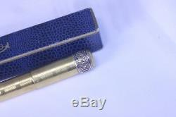 1920s RAPID by Ancora Overlay Safety Fountain Pen 14K Med nib Boxed Near MInt
