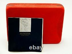 1992 Aurora 75 Years Limited Edition Pen #3129 Box Paper Ink Perfect Unused Pen