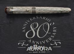 Aurora 80th Anniversary L. E. 1999 special fountain pen new pristine in box