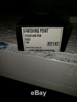 B5Open boxPilot Namiki Vanishing Point Black Fine Fountain Pen #60142