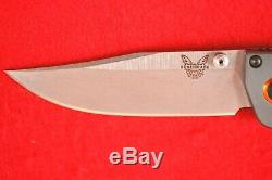 Benchmade 15085-2 Mini Crooked River Stabilized Wood, Cpm-s30v Knife, New In Box