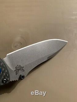 Benchmade 484-1 Nakamura Design Carbon Fiber Cpm-s90v Axis Lock Knife New In Box
