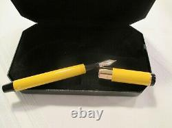 Bexley Fountain Pen 115 Gold and Silver Nib withoriginal box (see description)