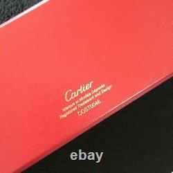 CARTIER Diabolo de Cartier Ballpoint Pen Black Resin Never Used in Box