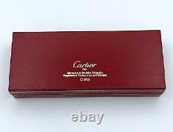 Cartier original vintage 1990 Must mini letter opener New Old Stock in box