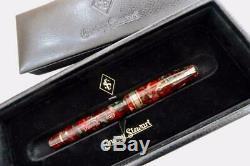 Conway Stewart 100 Series Ltd Ed 24/50 Fountain Pen Poinsettia Mint & Boxed 2009