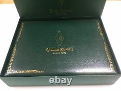 Conway Stewart Churchill limited edition green and red swirl fountain pen +boxes