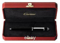 Diabolo de Cartier Ballpoint pen ST180010 with box Black New