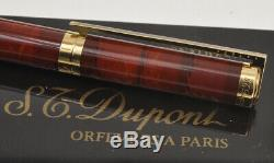 Dupont variegated lacquer vintage 1975/80 fountain pen new old stock in box