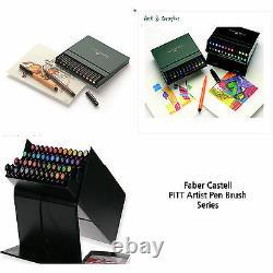 Faber Castell PITT Artist Pens Brush Studio Box 12 24 48 60 Color Calligraphy