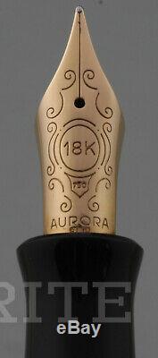 Fountain Pen Aurora Limited Edition Jubileum 1690/2000 Nib M Complete Box
