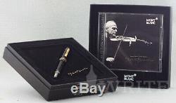 Fountain Pen Montblanc Special Edition Yehudi Menuhin Nib M Complete Box