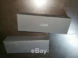 Lamy 2000 Black Fountain Pen 14K Medium Nib Used, Original Box