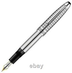 MONTBLANC 146 Solitaire Stainless Steel II LeGrand Fountain Pen MINT IN BOX 9939