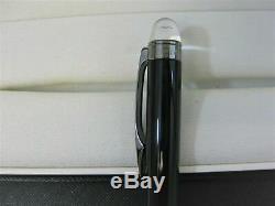 Montblanc 105657 Starwalker Midnight Black Resin Ballpoint Pen NEW IN BOX