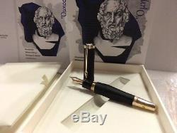 Montblanc 2018 Writers Edition Homer Fountain Pen (m) Nib #117876 New In Box