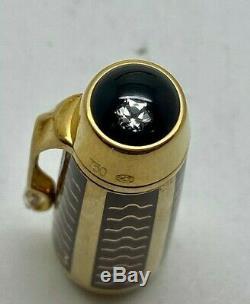 Montblanc Boheme 100 Anni 18K SOLID GOLD Diamond Fountain Pen 100 Made Boxed