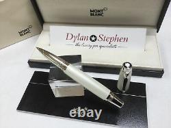 Montblanc Boheme Blanche white rollerball pen NEW + boxes