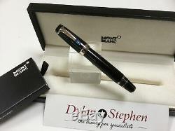 Montblanc Boheme Bleu fountain pen 14K fine nib + box + ink
