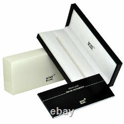 Montblanc Classique Meisterstuck Rollerball Black with Gold Trim 163 12890 with Box