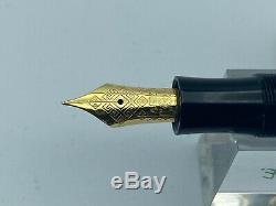 Montblanc Fyodor DOSTOEVSKY Fountain Pen 18K FINE nib Year 1997 UNINKED NO BOX