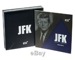 Montblanc John F. Kennedy Special ED Ballpoint Blue Pen 111046 Stain Blue Box