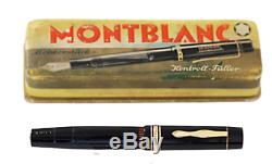 Montblanc L139 G 1940 s /14 Karat Gold nib/ F /Box