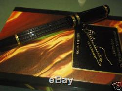 Montblanc Limited Edition Dostoevsky Fountain Pen Med Pt New In Box With Papers