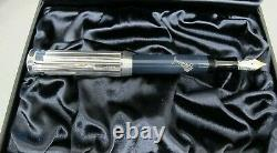 Montblanc Limited Edition Fountain Pen Dickens Medium Pt New In Box