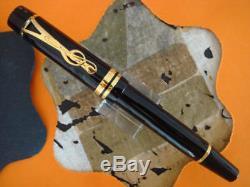 Montblanc Limited Edition L Bernstein Fountain Pen Medium Pt New In Box