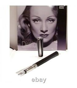 Montblanc Marlene Dietrich Special Edition Med Nib Fountain Pen 101400 NewithBox