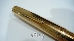 Montblanc Masterpiece 742-n, In Box With Documents, 14k Solid Gold, 14k M Nib