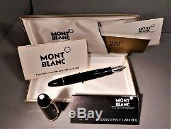 Montblanc Meisterstuck #149, Fountain Pen 14k Nib 4810, Orig Box, All Paperwork
