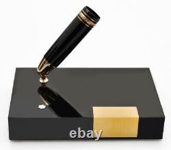 Montblanc Meisterstuck 149 Gift Set FP with Desk Pen Holder new pristine in box
