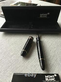 Montblanc Meisterstuck 149 Hardly Used Boxed Fountain Pen 4819 Nib