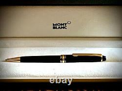 Montblanc Meisterstuck Ballpoint Pen with Gold Trims New in Box