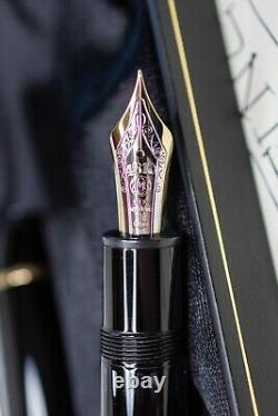 Montblanc Meisterstuck Diplomat 149 Fountain Pen 18k Nib Mint w Box