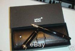 Montblanc Meisterstuck LeGgrand 147 Traveler Fountain Pen Set Med Pt New In Box