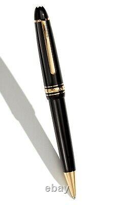 Montblanc Pen Meisterstuck LeGrand Ballpoint Pen with Gold Trims New in Box