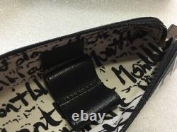 Montblanc Sartorial 2 Pen Pouch Zip Top Calligraphy #124142 New in Box