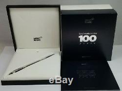 Montblanc Soulmakers 100 Year Timewalker Fountain Pen Med Nib Box Papers Diamond