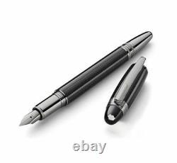 Montblanc Starwalker Ultimate Carbon Fiber Med. Fountain Pen #109365 New in Box