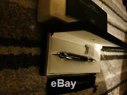Montblanc starwalker striped Doue rollerball pen new with original box manual