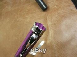 Montegrappa Ducale Murano Viola Veneziano Roller ball Pen Brand New in Box