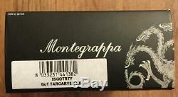 Montegrappa Game of Thrones Targaryen Rollerball Pen, ISGOTRTY, New In Box