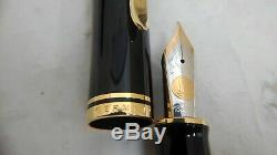 NEW Pelikan Fountain pen SOUVERAN M1000 Black 18k nib F withbox, ink, gurantee