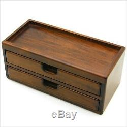 NEW Toyooka Wooden Fountain Pen Storage Box Collection Case 8 pens with Tracking