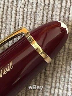 NEW Vintage MontBlanc Meisterstuck 162R LeGrand Rollerball Orig Box Engraved