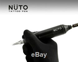 NUTO Tattoo Pen Machine & 10 Boxes of Nuto Cartridges Magnetic Needles (200pcs)