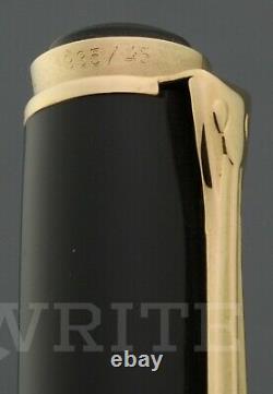 New! Fountain Pen Pelikan Lim. Ed. Wall Street 1935/4500 Nib F Complete Box